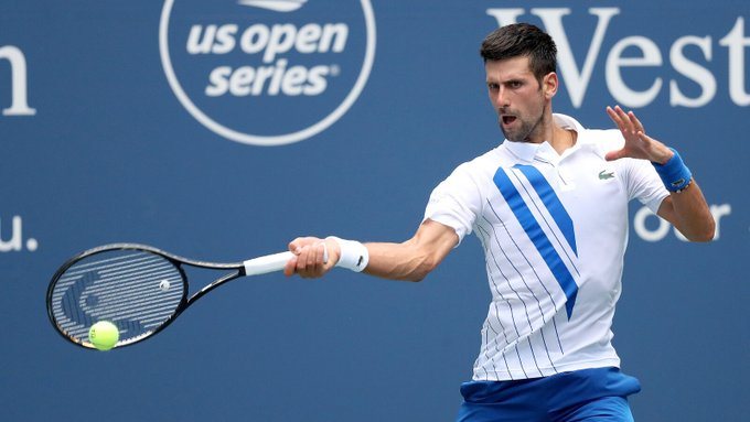 Believe It Or Not Novak Djokovic Disqualified From Us Open After Hitting The Line Referee With A Ball Fanport English